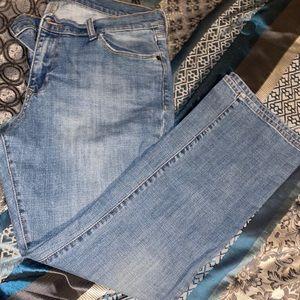 Old navy vintage bootcut jeans